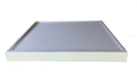 Plafonnier led saillie dans cadre aluminium